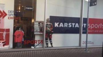 Zusammenarbeit Mit Karstadt Sports