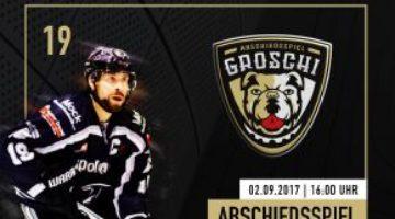 Zeremonie Der Fans Zur Verabschiedung Christian Grosch