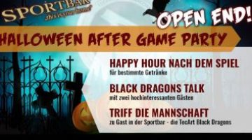 Halloween After Game Party