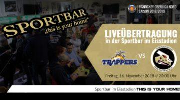 Liverübertragung Tilburg Trappers Vs Tec Art Black Dragons