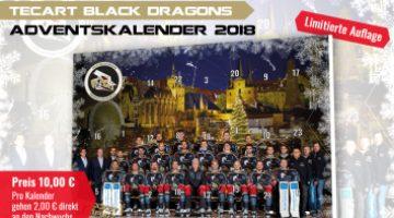 Tec Art Black Dragons Adventskalender 2018
