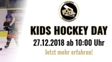 Tec Art Black Dragons Laden Ein Zum Kids Hockey Day Am 27 12 2018