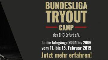 Tryout Camp Des Ehc Erfurt Vom 11 Bis 15 Februar 2019