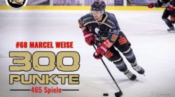 300 Punkte Für Marcel Weise